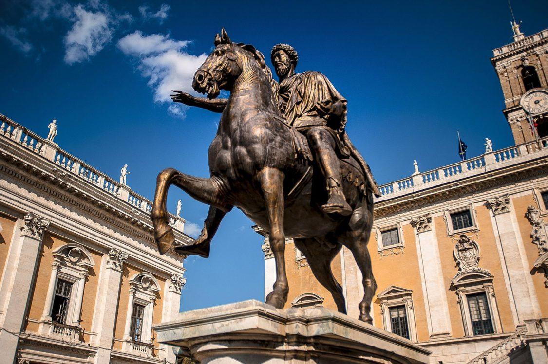 La statua equeste di Marco Aurelio e di come si è salvata dalla fornace